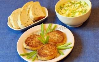 Котлеты из судака — рыбные рецепты