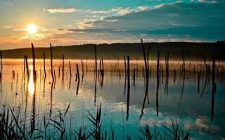Тамбукан озеро — место для рыбака
