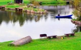 Рыбалка в Мытищах, пруды Рупасово