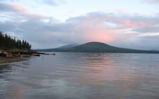 Большой Кыл — место для рыбака