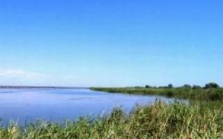 Брединское водохранилище — место для рыбака