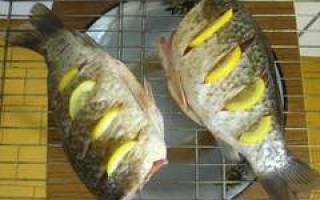 Голавли, запечённые в золе — рыбные рецепты