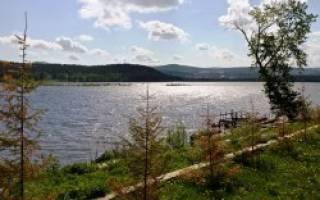 Златоустовский пруд — место для рыбака