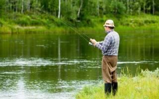 Введенское озеро — место для рыбака