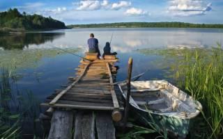 Кудьма — место для рыбака