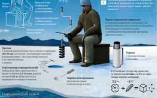 Экипировка зимнего рыболова