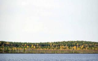 Вашты озеро — место для рыбака