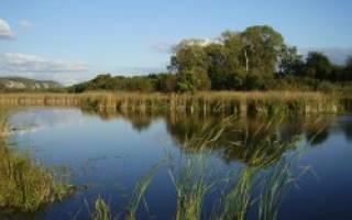 Озеро Евакуль — место для рыбака