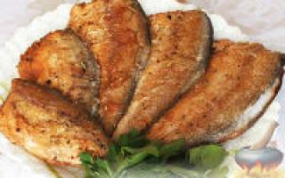 Жареный пескарь — рыбные рецепты
