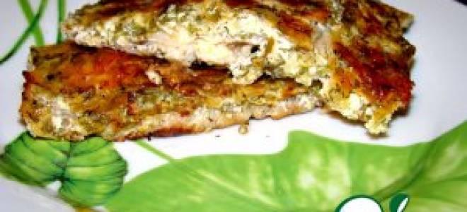 Хариус, запечённый в духовке под сырным соусом — рыбные рецепты