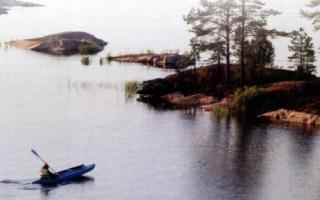 Рыбалка на Ладожском озере с Сергеем