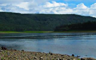 Подкаменная Тунгуска — место для рыбака