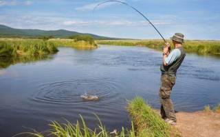 Жукопа — место для рыбака