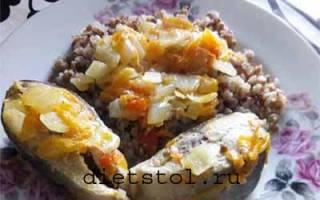 Горбуша тушёная — рыбные рецепты