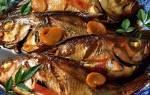 Краснопёрка по-лигурийски — рыбные рецепты