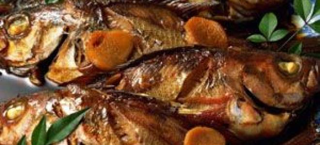 Жареная краснопёрка — рыбные рецепты