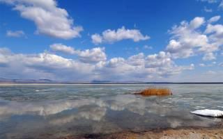 Улугколь озеро — место для рыбака