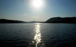 Саткинский пруд — место для рыбака
