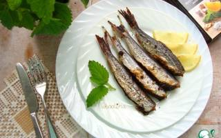 Салака на мангале — рыбные рецепты