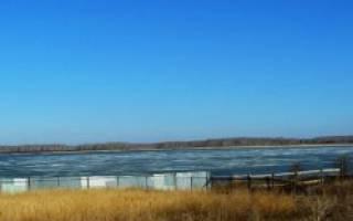 Кривильды озеро — место для рыбака