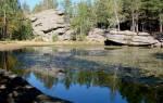 Большое Моховое озеро — место для рыбака