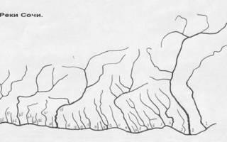 Низовья сочинских горных рек