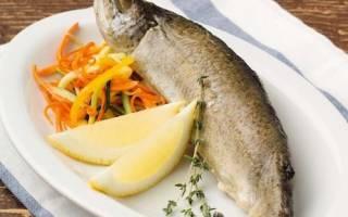 Форель фаршированная креветками и грибами — рыбные рецепты