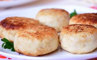 Котлеты из густеры — рыбные рецепты