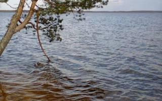 Озеро Меглино — место для рыбака