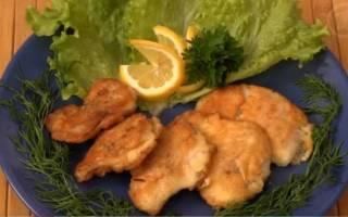 Рыба в кляре — рыбные рецепты