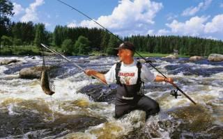 Выйка — место для рыбака
