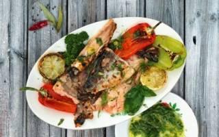 Горбуша на гриле — рыбные рецепты