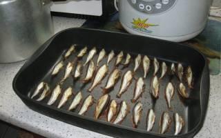 Уклейка, зажареная в тесте — рыбные рецепты