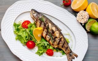 Радужная форель с тархуном на гриле — рыбные рецепты