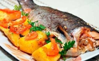 Таймень, жареный в луковом кляре — рыбные рецепты
