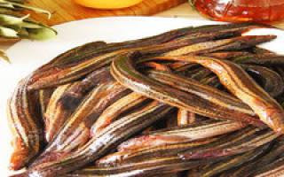 Жареный вьюн — рыбные рецепты