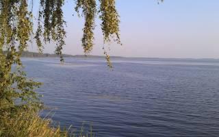 Окункуль озеро — место для рыбака