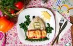 Семга под пряным маслом — рыбные рецепты