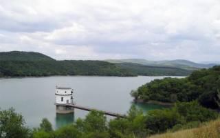 Партизанское водохранилище — место для рыбака