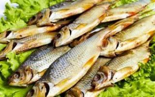 Вяленая плотва — рыбные рецепты