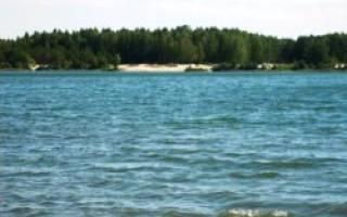 Брехуново озеро — место для рыбака