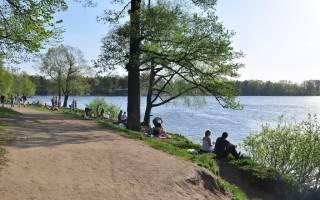 Озеро Омчино — место для рыбака