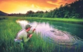 Псижа — место для рыбака