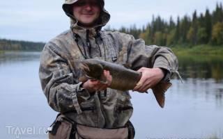 Ура — место для рыбака