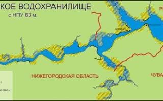 Чебоксарское водохранилище — место для рыбака
