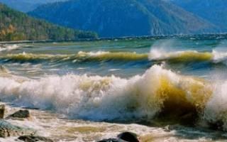 Телецкое озеро — место для рыбака