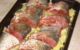 Белый амур в фольге — рыбные рецепты