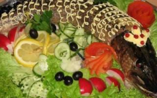 Щука, фаршированная по-еврейски — рыбные рецепты
