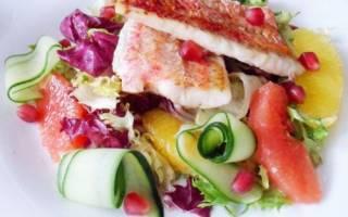 Салатный микс с барабулькой — рыбные рецепты