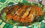 Салака под маринадом — рыбные рецепты